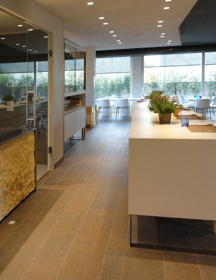 I Tigli restaurant - design by Gili Creations <br>Verona (IT)